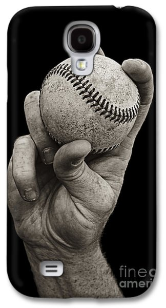 Sports Galaxy S4 Case - Fastball by Diane Diederich