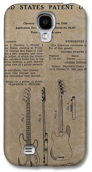 Fender Guitar Patent Galaxy S4 Case