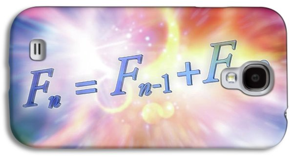Fibonacci Sequence Equation Galaxy S4 Case by Alfred Pasieka