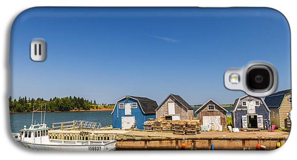 Fishing Dock In Prince Edward Island  Galaxy S4 Case by Elena Elisseeva