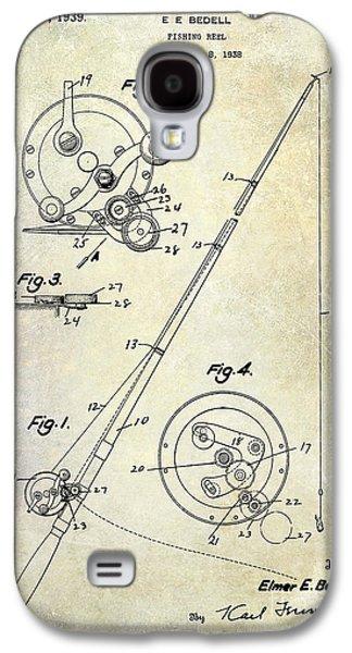 Fishing Reel Patent 1939 Galaxy S4 Case