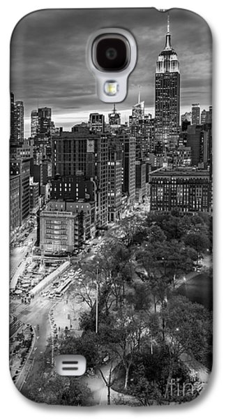 Flatiron District Birds Eye View Galaxy S4 Case by Susan Candelario