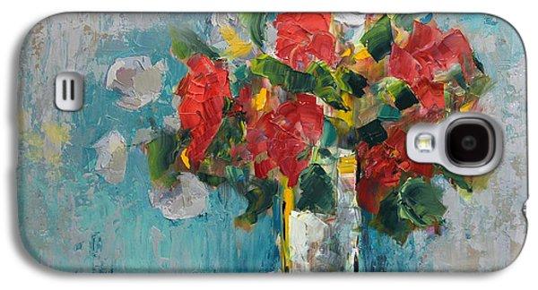 Floral 13 Galaxy S4 Case