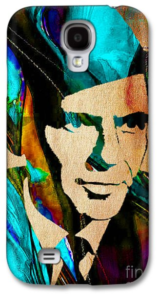 Frank Sinatra Paintings Galaxy S4 Case by Marvin Blaine