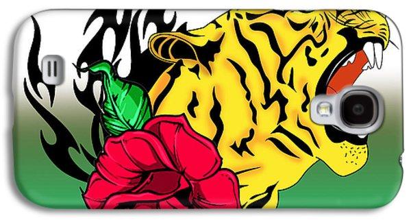 Freak Tiger  Galaxy S4 Case