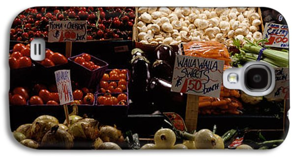 Fruits And Vegetables At A Market Galaxy S4 Case by Panoramic Images