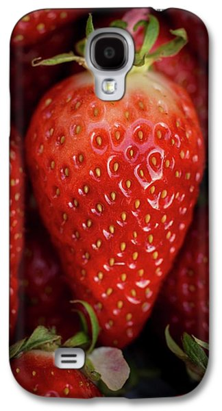 Gariguette Strawberries Galaxy S4 Case by Aberration Films Ltd