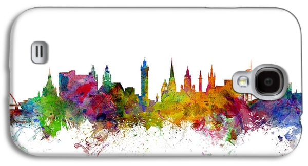 Glasgow Scotland Skyline Galaxy S4 Case