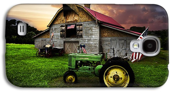God Bless America Galaxy S4 Case by Debra and Dave Vanderlaan