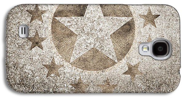 Gold Star Hollywood Event Background. Walk Of Fame Galaxy S4 Case by Jorgo Photography - Wall Art Gallery
