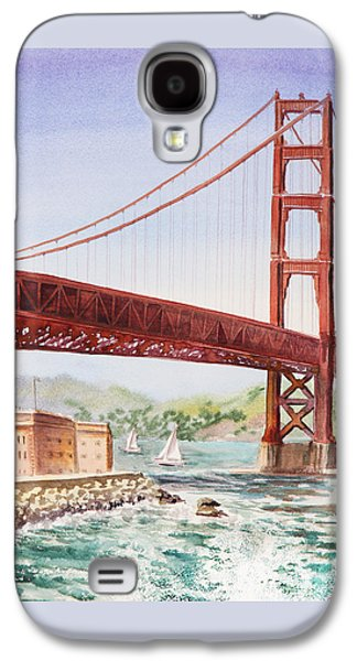 Golden Gate Bridge San Francisco Galaxy S4 Case by Irina Sztukowski