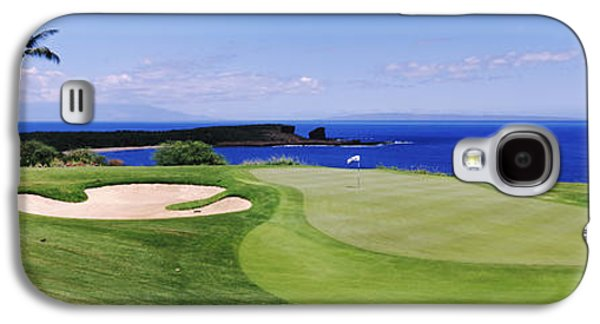 Golf Course At The Oceanside, The Galaxy S4 Case by Panoramic Images