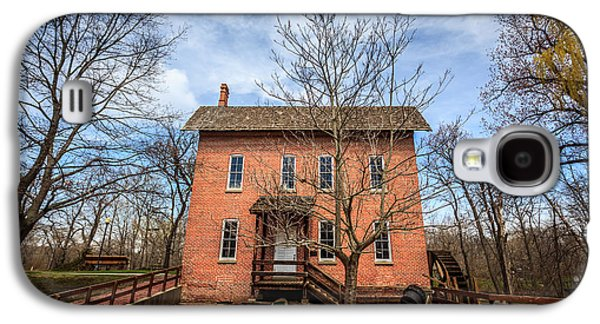 Grist Mill In Deep River County Park Galaxy S4 Case by Paul Velgos