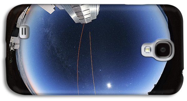 Guide Lasers Over Mauna Kea Observatories Galaxy S4 Case by Babak Tafreshi