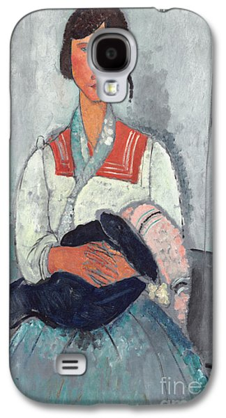 Gypsy Woman With Baby Galaxy S4 Case