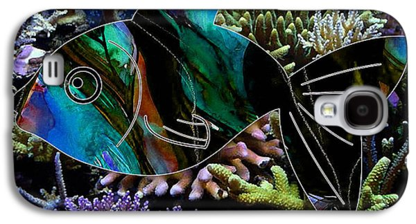 Happy Fish Galaxy S4 Case by Marvin Blaine