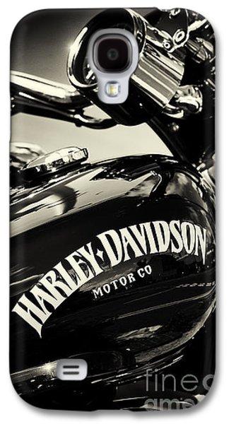 Harley D Sepia Galaxy S4 Case