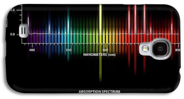 Helium Emission And Absorption Spectra Galaxy S4 Case