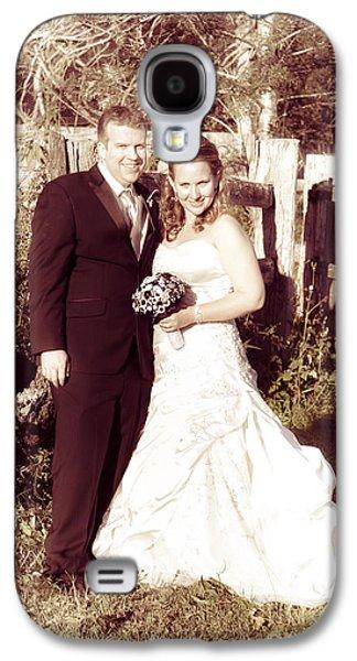 Historical Australian Wedding Couple Galaxy S4 Case