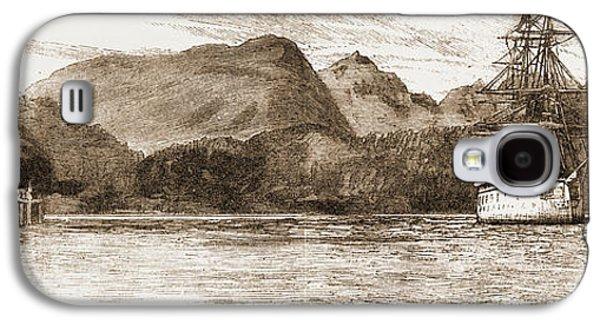 H.m.s. Comus At Burrard Inlet, The Present Terminus Galaxy S4 Case