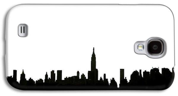I Love Ny Galaxy S4 Case by Natasha Marco