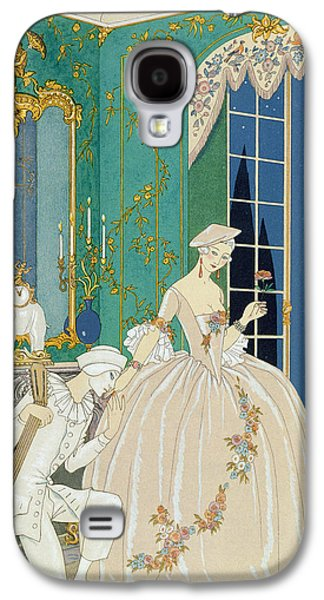 Illustration For 'fetes Galantes' Galaxy S4 Case