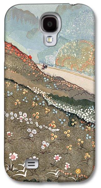 Illustration For Kim By Rudyard Kipling Galaxy S4 Case by Francois-Louis Schmied