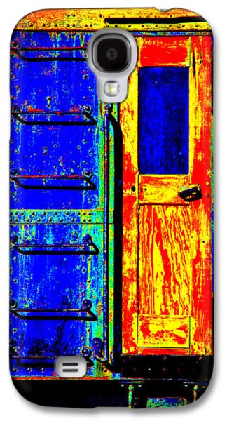 Impressionistic Photo Paint Gs 017 Galaxy S4 Case by Catf