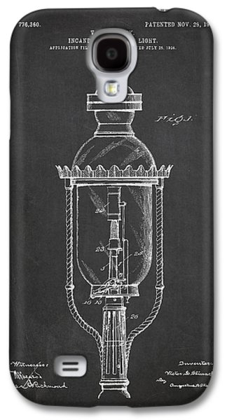 Incandescent Street Light Patent Drawing From 1904 Galaxy S4 Case