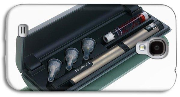 Insulin Pen Galaxy S4 Case by Mark Sykes