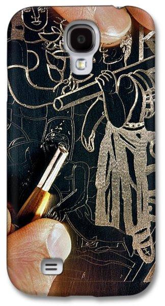 Intaglio Printmaking Galaxy S4 Case by Patrick Landmann
