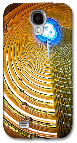 Interiors Of Jin Mao Tower Looking Galaxy S4 Case by Panoramic Images