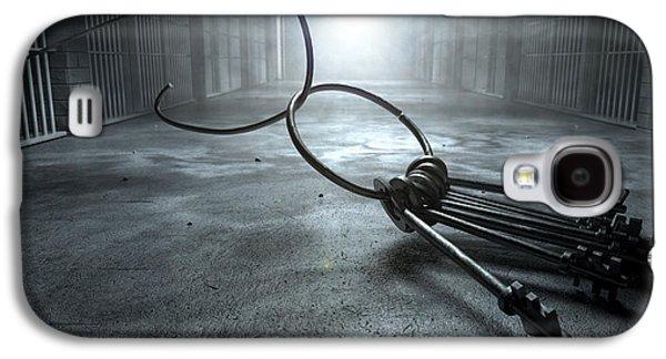 Jail Break Keys And Prison Cell Galaxy S4 Case