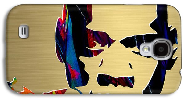 Jay Z Gold Series Galaxy S4 Case by Marvin Blaine