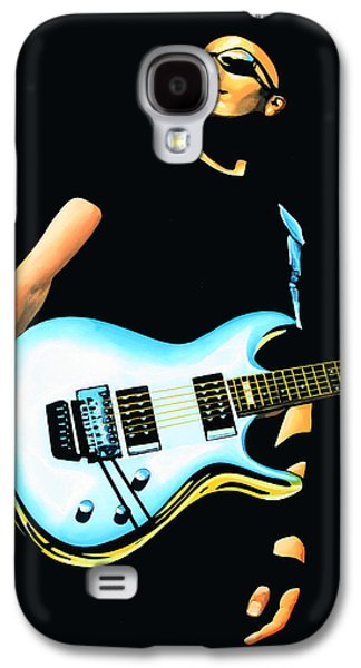 Joe Satriani Painting Galaxy S4 Case by Paul Meijering