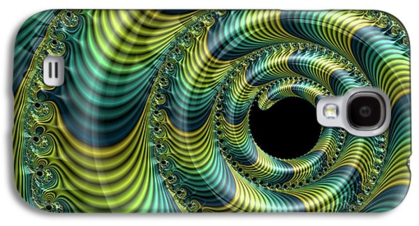 Julia Fractal Galaxy S4 Case by Alfred Pasieka