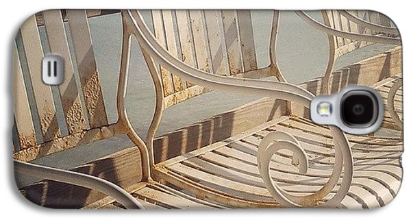 Decorative Galaxy S4 Case - Beach Bar Chairs by Dani Hoy