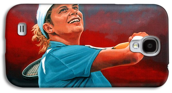 Kim Clijsters Galaxy S4 Case by Paul Meijering