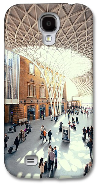 Travel Galaxy S4 Case - Kings Cross Station London by Songquan Deng