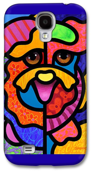 Happy Dog Galaxy S4 Case by Steven Scott