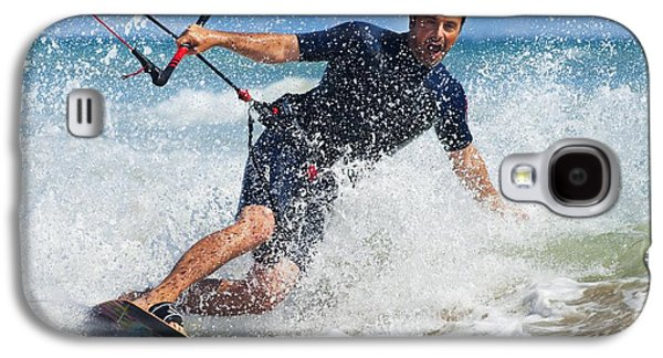 Kite Surfing In Front Of Hotel Dos Galaxy S4 Case by Ben Welsh