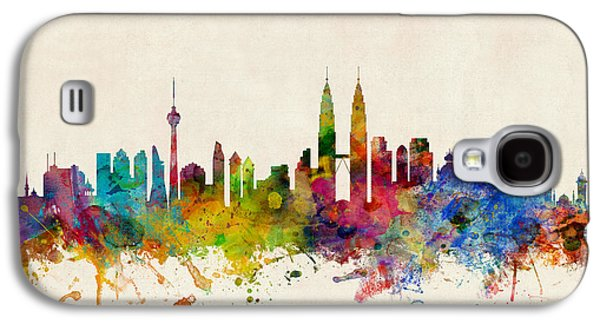 Kuala Lumpur Malaysia Skyline Galaxy S4 Case