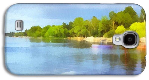 Landscape Of The Balaton Lake Galaxy S4 Case