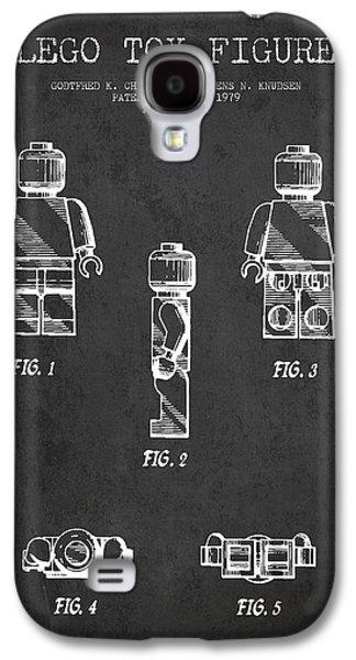 Lego Toy Figure Patent - Dark Galaxy S4 Case