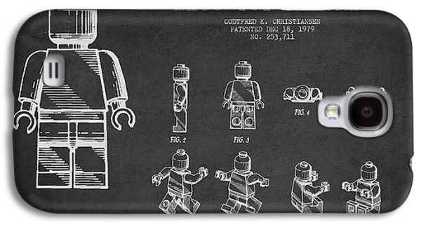 Lego Toy Figure Patent Drawing Galaxy S4 Case