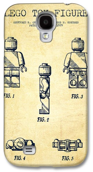 Lego Toy Figure Patent - Vintage Galaxy S4 Case