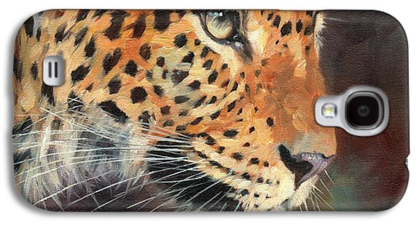 Leopard Galaxy S4 Case by David Stribbling