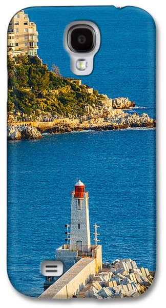 Lighthouse On The Riviera Galaxy S4 Case