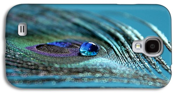 Peacock Galaxy S4 Case - Liquid Blue by Krissy Katsimbras