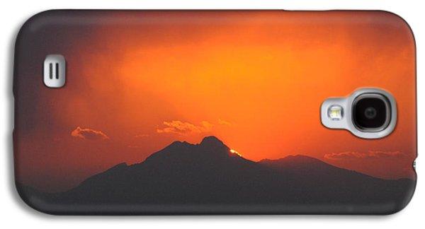 Longs Peak Sunset Galaxy S4 Case